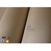 1200G High Silica  Cloth Fabric 1.3mm Satin Weave Fiberglass Cloth For Fire Blanket
