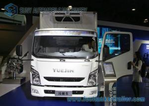 China Professional IVECO Refrigerated Box Truck 3 T Mini Refrigerated Trailer on sale