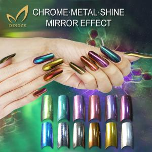 China Chameleon pigment mirror effect pigment silver chrome coating mirror effect pigment on sale