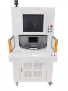 China Pvc Plastic Mobile UV Laser Marking Machine Horizontal Polarization direction on sale