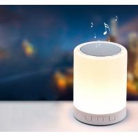China LED Bedside Lamp and Night light Portable Bluetooth Speaker 3W LED Outdoors Mini Speaker on sale
