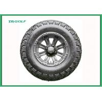 Black 12 Inch Golf Cart Street Tires Mud Buster Golf Cart Tires With Rims