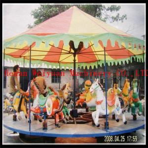 China musical outdoor christmas carousel, antique carousel ride, trailer mobile carousel horse for sale on sale