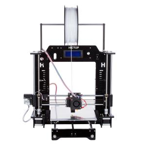 China High Printing Accuracy Mini PLA / ABS Filament DIY 3D Printers with Installation Tools on sale