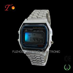 China Popular led men and women digital watches with very competitive price on sale