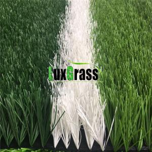 China Double Stem Cheap Artificial Lawn for Football / Soccer Fields on sale