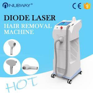 China New style 808nm diode laser hair removal machine for beauty salon use on sale