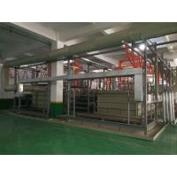 China 2 T/㎡ Automatic Anodizing Plant , Titanium Anodizing Machine Drainage Facilities Divided on sale