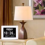 8 Inch Digital Calender Video Brochure Day Clock Hd LCD Screen Backlight USB Snooze