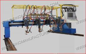 China CNC/Multi-head Straight Strip Cutting Machine on sale