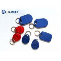 125KHz 13.56MHz RFID Door Access Key Fobs / Epoxy RFID Tag Fit Public Traffic