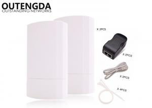 China Outdoor POE Wireless Access Point CPE / Bridge / Router Point to Point Long Range on sale