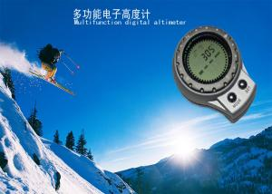 China Climbing , Hiking Mini Shape Altimeter Barometer Compass with IPX4 Waterproof SR106N on sale