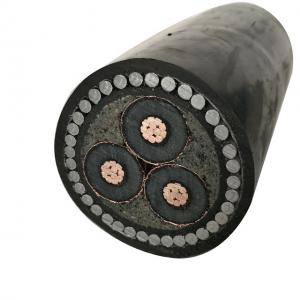 China 8.7/15KV power cable 3 core 185mm armoured cable on sale