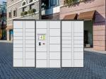 Delivery Intelligent Parcel Locker Box Durable Metal Postal Delivery Locker