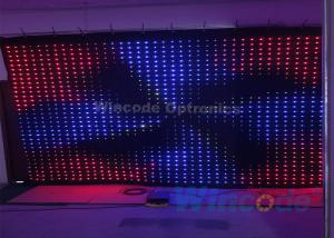 China P10 Flexible LED Curtain Flash Effects 4m X 6m With Fireproof Fabric Material on sale