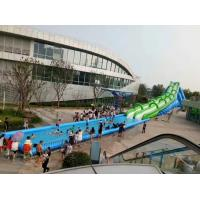 Giant comercial rental water slide super 50 meter long game for Adults for sales