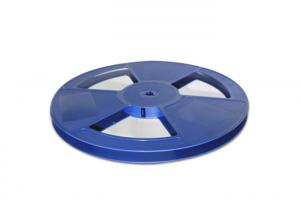 China 13 Inch Anti Static SMD Parts Assembly Plastic Reels Blue Color For Carrier Tape on sale