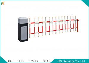 RFID Automated Fence Boom Barrier Gate Remote Control Metal Boom