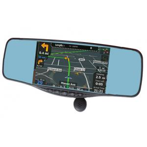 China rearview mirror lyrics+Radar detector+bluetooth+gps+speed recorder+backup camera+FCC,CE,ROHS on sale