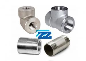 China High Pressure Threaded Pipe Fittings  3 3000LB Stainless Steel Material on sale