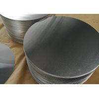 1.8mm 1100 Aluminum Circle Blanks , Fry Pan Lightweight Round Aluminum Discs