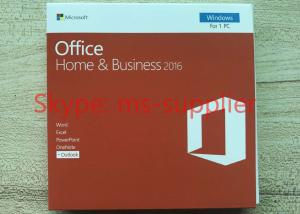 China Brand New Microsoft Office Home and Business 2013 / 2016 for 32 / 64 Bit on sale