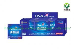 China USA Blue Shark Natural Male Sex Enhancement / Penis Enlargement on sale