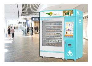 China Campus Health Refrigerated Vending Machine Wellness Medical Supply With QR Code on sale