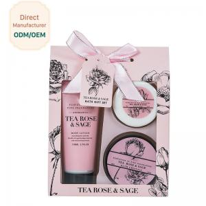 China Luxury Pamper Gift Sets Long Lasting Hydrating Feature MSDS Certification on sale