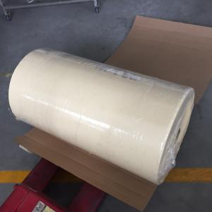 China Automotive Crepe Paper Masking Tape Jumbo Rolls Car Paint Reparing on sale
