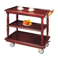 China Wooden Three-Tier Wine vintage bar cart tea trolley home bar C-24 on sale