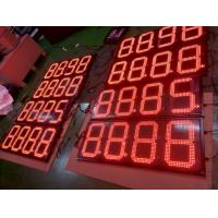 China Digital gas pricers sign board led oil price display for gas station led advertising display on sale