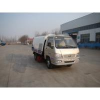4T Foton street sweeper truck with high cleaning ability for sale