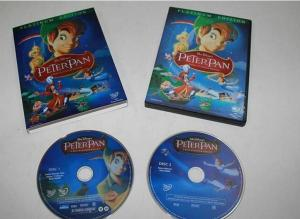 China America Movie Cartoon DVD Box Sets Peter Pan For Kids / Family , Disney Studios on sale