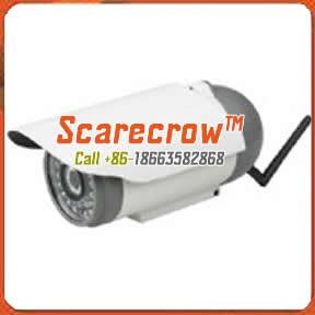 China Wireless microwave camera Waterproof infrared night vision wireless ip camera Scarecrow™ on sale