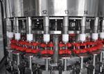 Máquina 3 in-1 Monoblock del relleno en caliente del acero inoxidable para las botellas del plástico 500ml