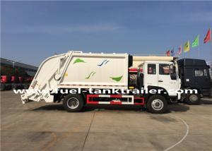 China Sinotruk Garbage Compactor Truck Transformer Street Sanitation Big Loading Capacity on sale