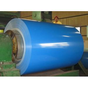 China 海の青/白い色は鋼鉄コイル、EN の熱いすくいの Galvalume の鋼鉄コイルに塗りました on sale
