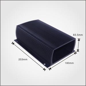 China TS16949 Aluminum Heat Sink Enclosure Metal Project Enclosure For Solar Controller on sale
