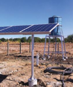 China Exchange Fluids ROSH Solar Water Pumping System For Irrigation on sale
