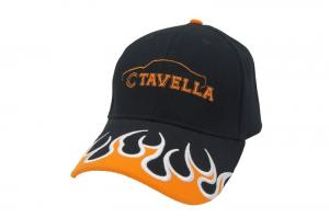 China Adults Printed Baseball Caps With Flame Embroidery Custom Color on sale
