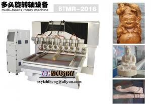 China CNC Engraving Machine, CNC Router - Multi-heads Rotary Machine for wood furniture,antique on sale
