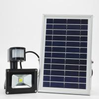 China High Lumen COB  Solar LED Flood Lights Motion Sensor CE ROHS Certification on sale