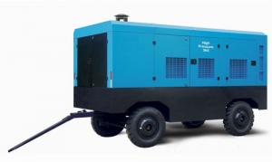 China Portable Diesel Powered Air Compressor Mobile For Drilling Rig Road Construction on sale