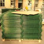 Building Material Weld Mesh Fence Panels / Pvc Coated Wire Mesh Panels