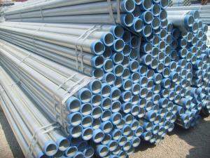 China BS1387 熱い浸された電流を通された炭素鋼の管、A106 GR.B OD 10.3mm - 168.3mm on sale