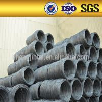 China SAE1008/1006/1010 Low carbon steel wire rod / ms wire rod 5.5mm,6.5mm on sale