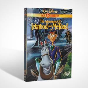 China The Adventures of Ichabod and Mr. Toad disney dvd movie children carton dvd movie for kids on sale