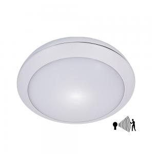 China White Battery Powered Ceiling Light / Round Motion Sensor Ceiling Light on sale